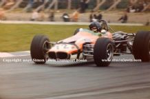 Lotus 59 F3  photo Roy Pike Brands Hatch 1969